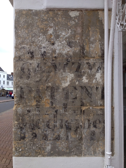 Ghost sign, vacant commercial property, Market Square, Banbury (Photo credit: johnfield1)