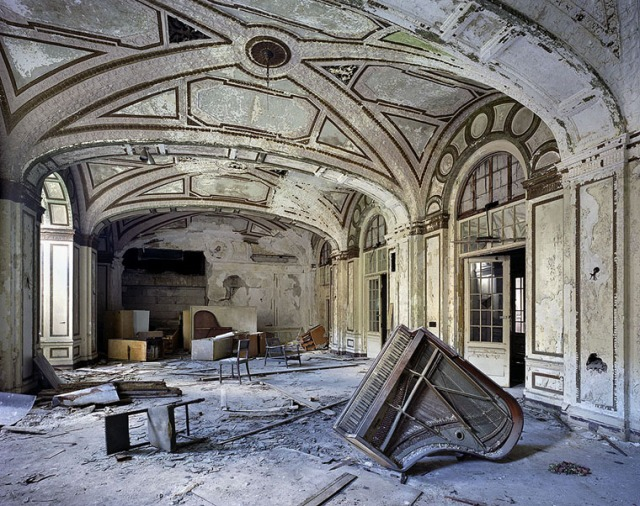 'Ballroom, Lee Plaza Hotel,' from The Ruins of Detroit (Photo credit: Yves Marchand & Romain Meffre - used with permission)