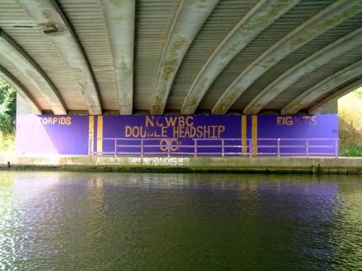 Donnington Bridge - New College Women's Boat Club (Photo credit: johnfield1)