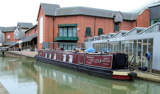 Rosamund the Fair at Tooley's Boatyard, Banbury (Photo credit: Jim Linwood)