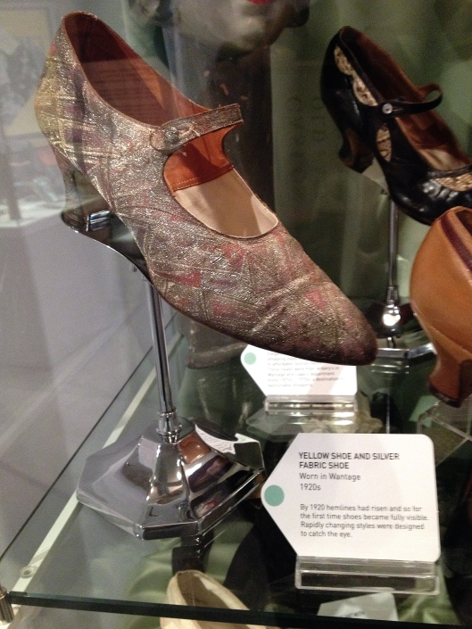 Penny Boxall's 'The Old Magic' at Head Over Heels, a display of hats and shoes (Photo credit: johnfield1)