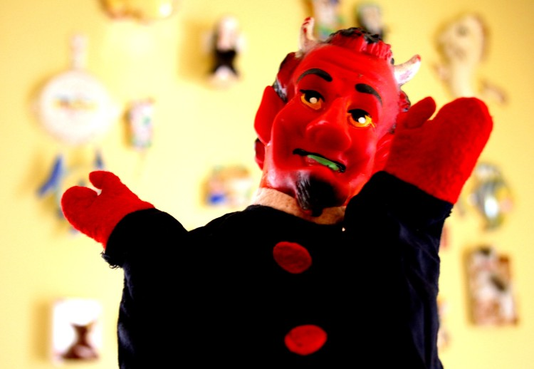 Devil Hand Puppet (Photo credit: amy_buthod)