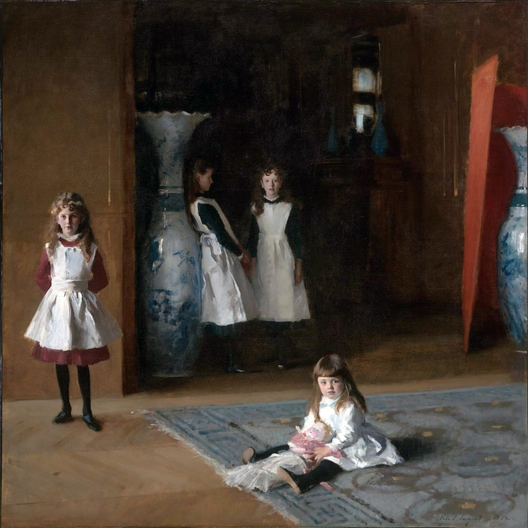 The Daughters of Edward Darley Boit, John Singer Sargent, 1882 (photo credit- Wikipedia)