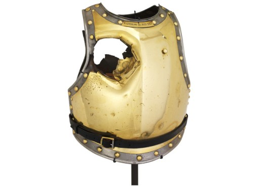 Antoine Fauveau Cuirass (photo credit: Waterloo 200 - all rights reserved)