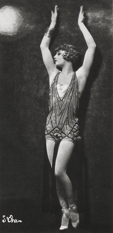 Barbette by Madame d'Ora, 1926