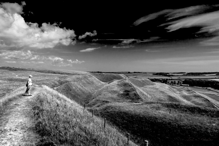 Ramparts Maiden Castle – Dorchester, Dorset (Photo credit: Tudor Barker)